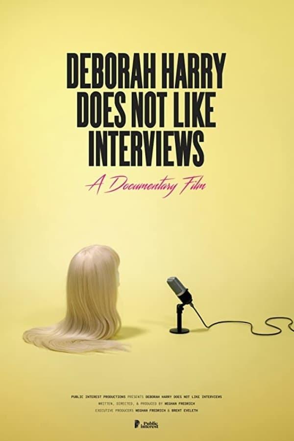 Deborah Harry Does Not Like Interviews
