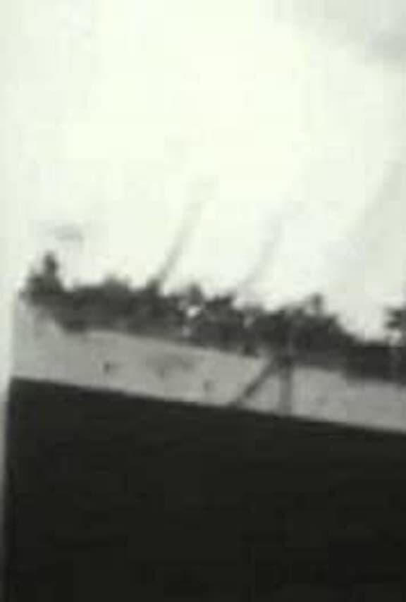 S.S. 'Queen' Leaving Dock