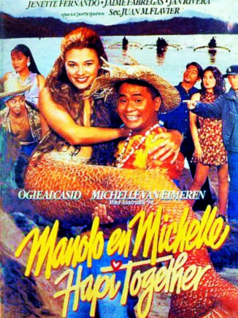 Manolo En Michelle Hapi Together