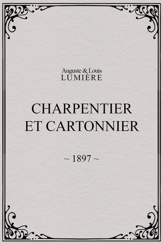 Charpentier et cartonnier