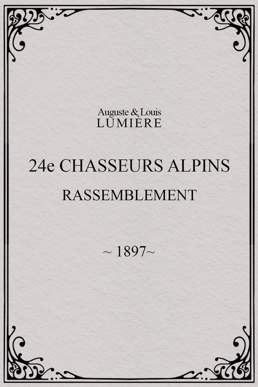 24ème chasseurs alpins : rassemblement