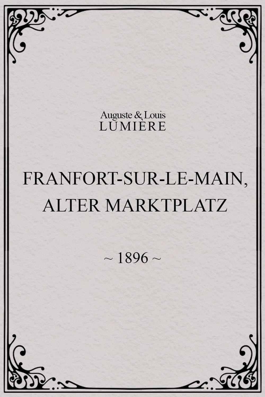 Francfort-sur-le-Main, Alter-Marktplatz