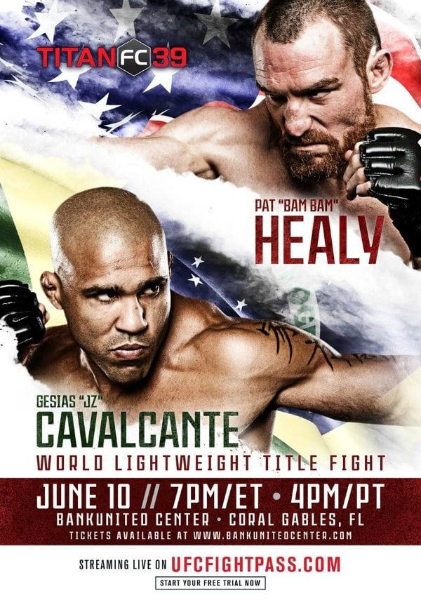 Titan FC 39: Cavalcante vs. Healy
