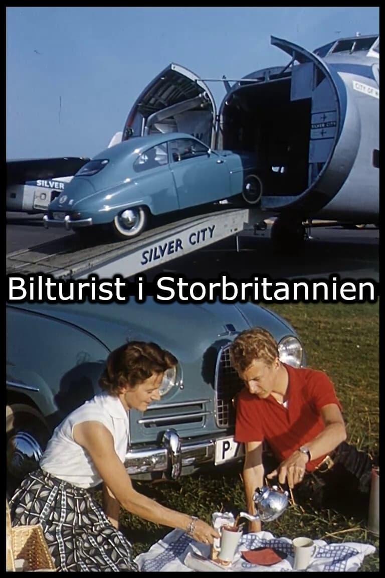 Car tourist in Great Britain