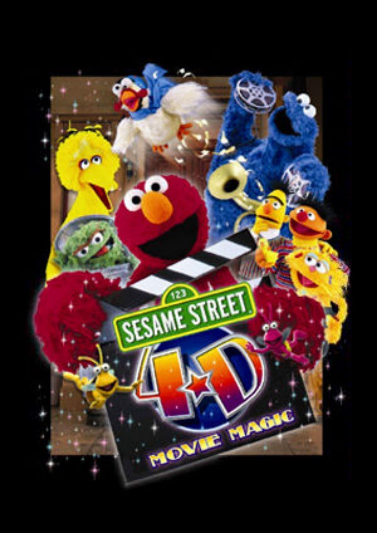 Sesame Street 4-D Movie Magic