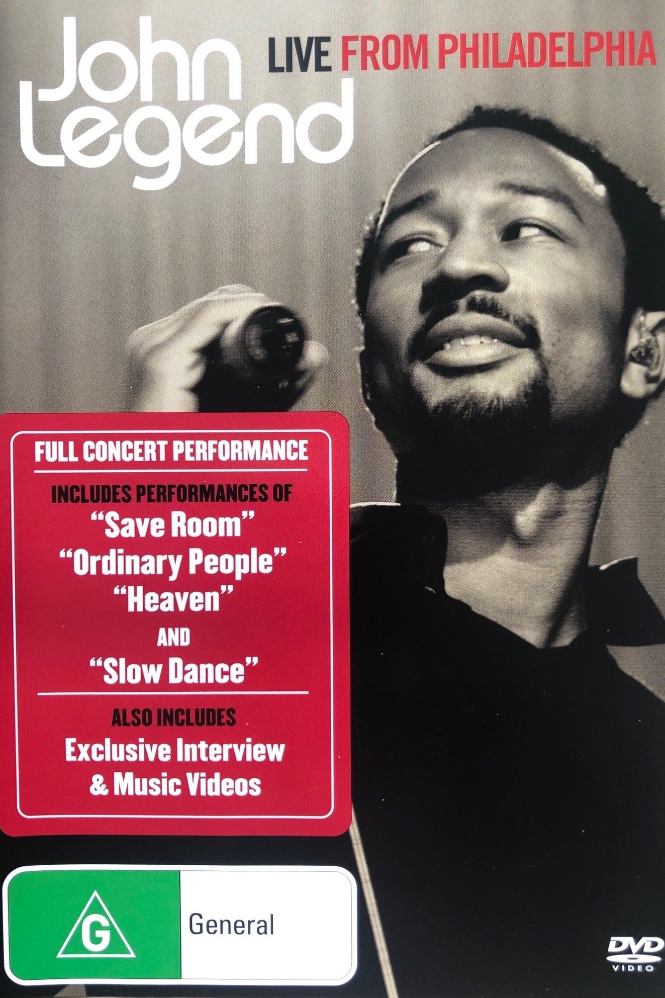 John Legend: Live from Philadelphia