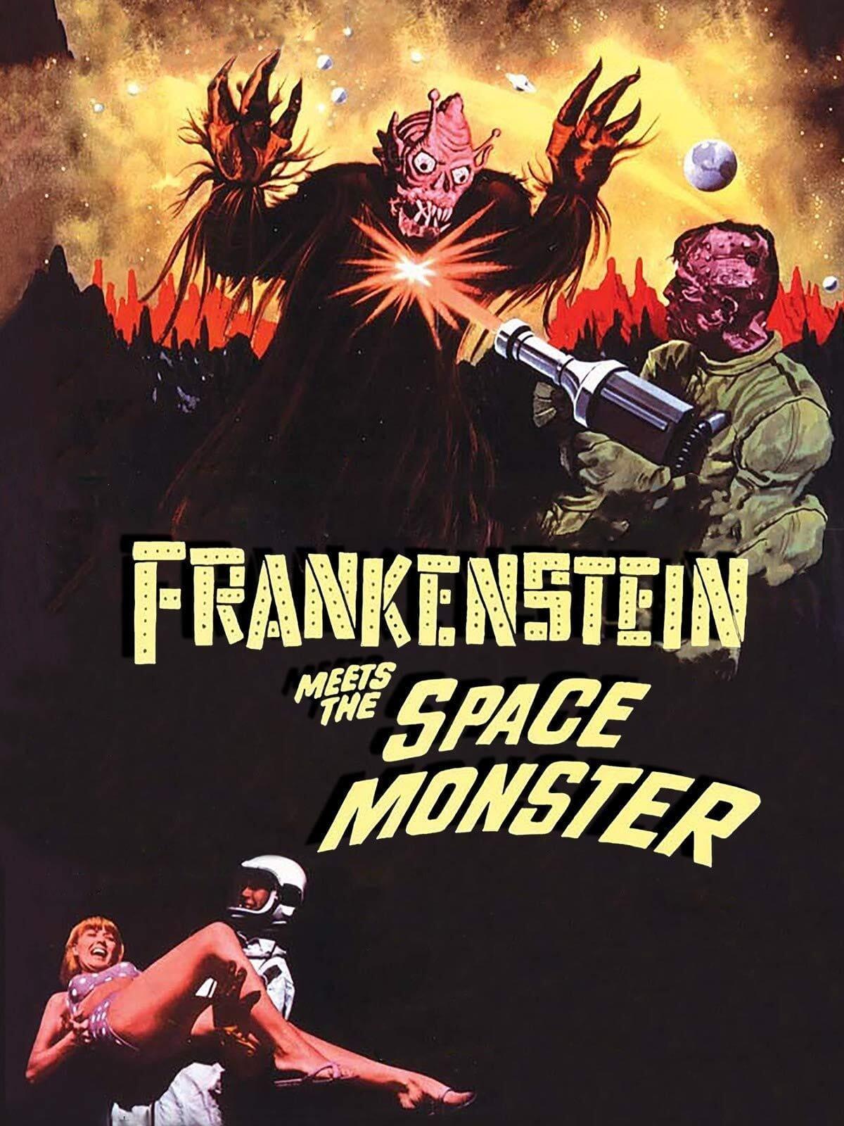 Frankenstein Contra o Monstro Espacial