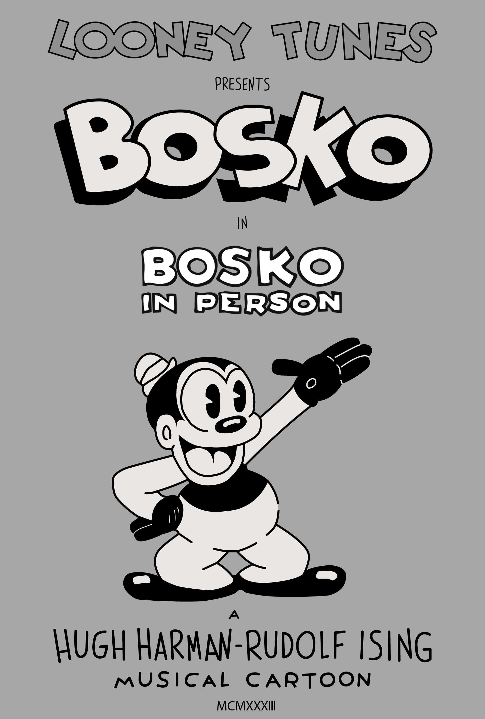 Bosko in Person