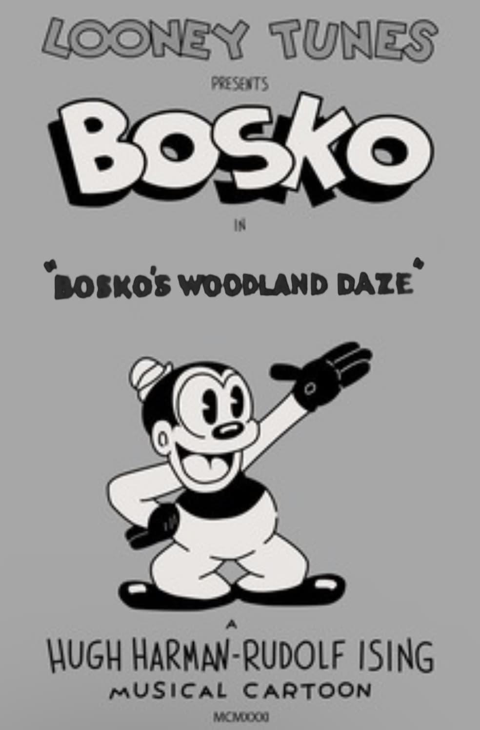 Bosko's Woodland Daze
