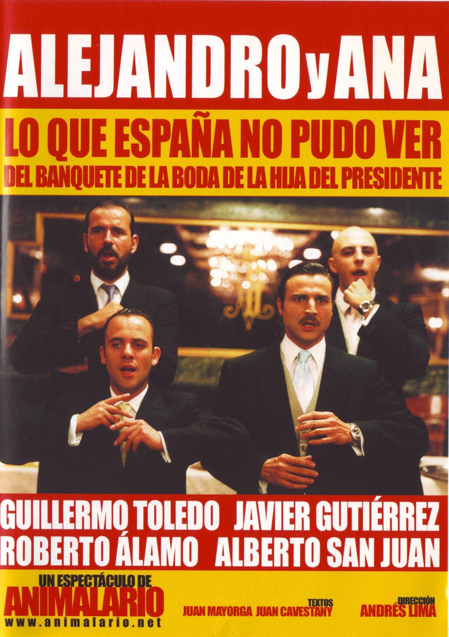 Alejandro y Ana: lo que España no pudo ver del banquete de la boda de la hija del presidente