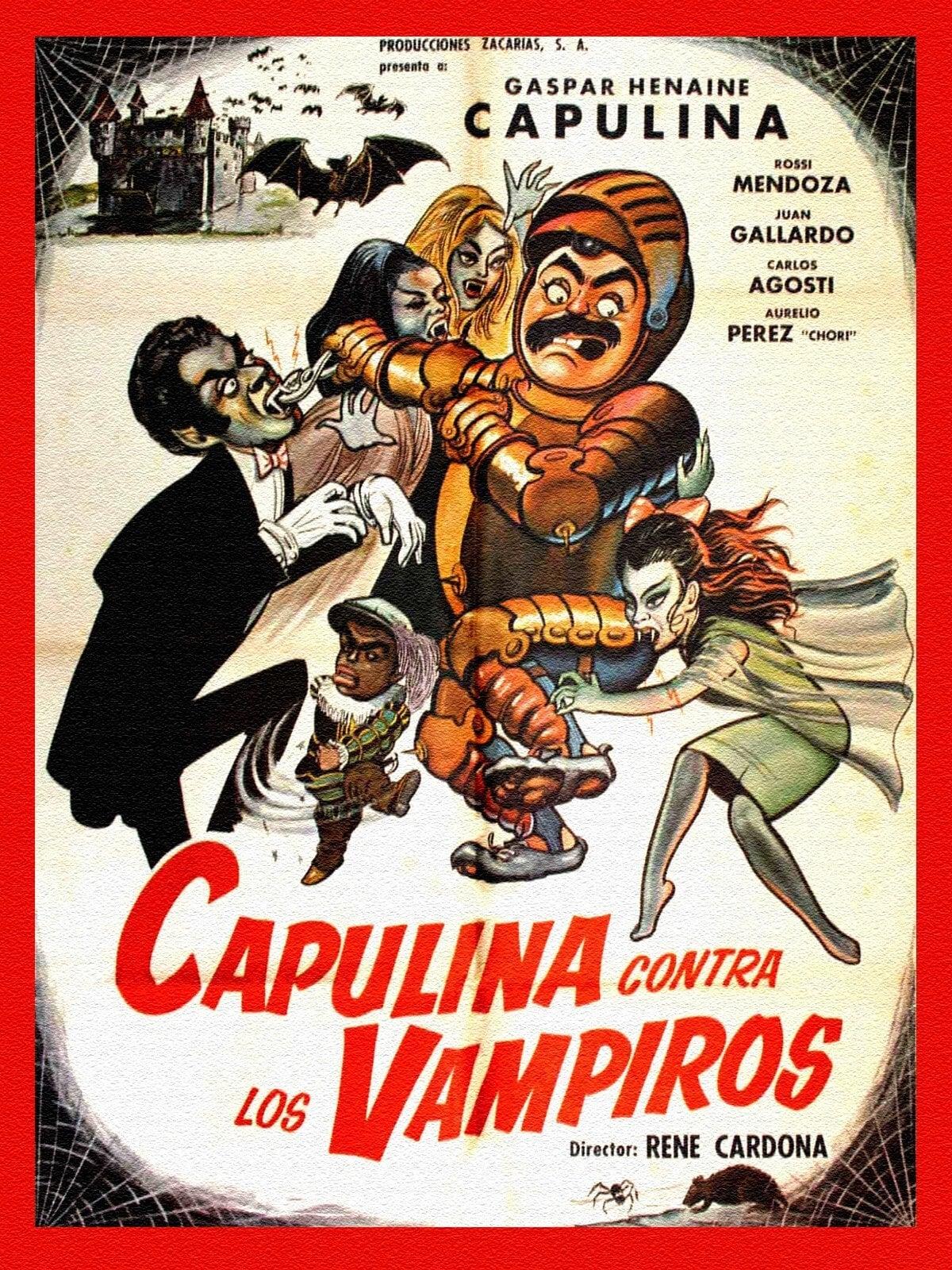 Capulina vs. the Vampires
