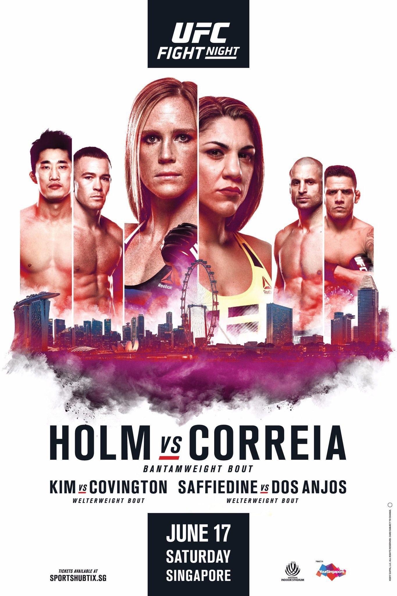 UFC Fight Night 111: Holm vs. Correia