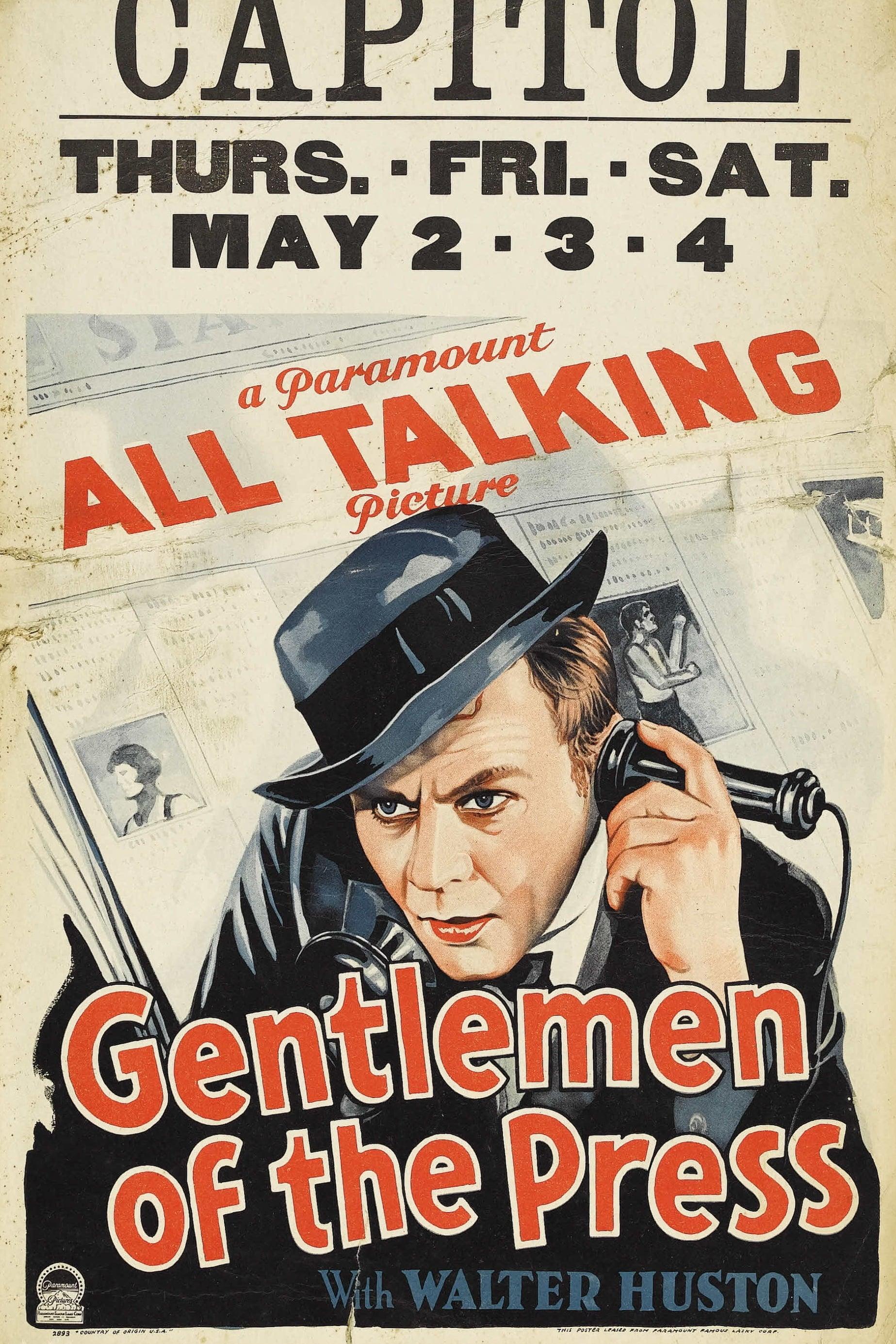 Gentlemen Of The Press