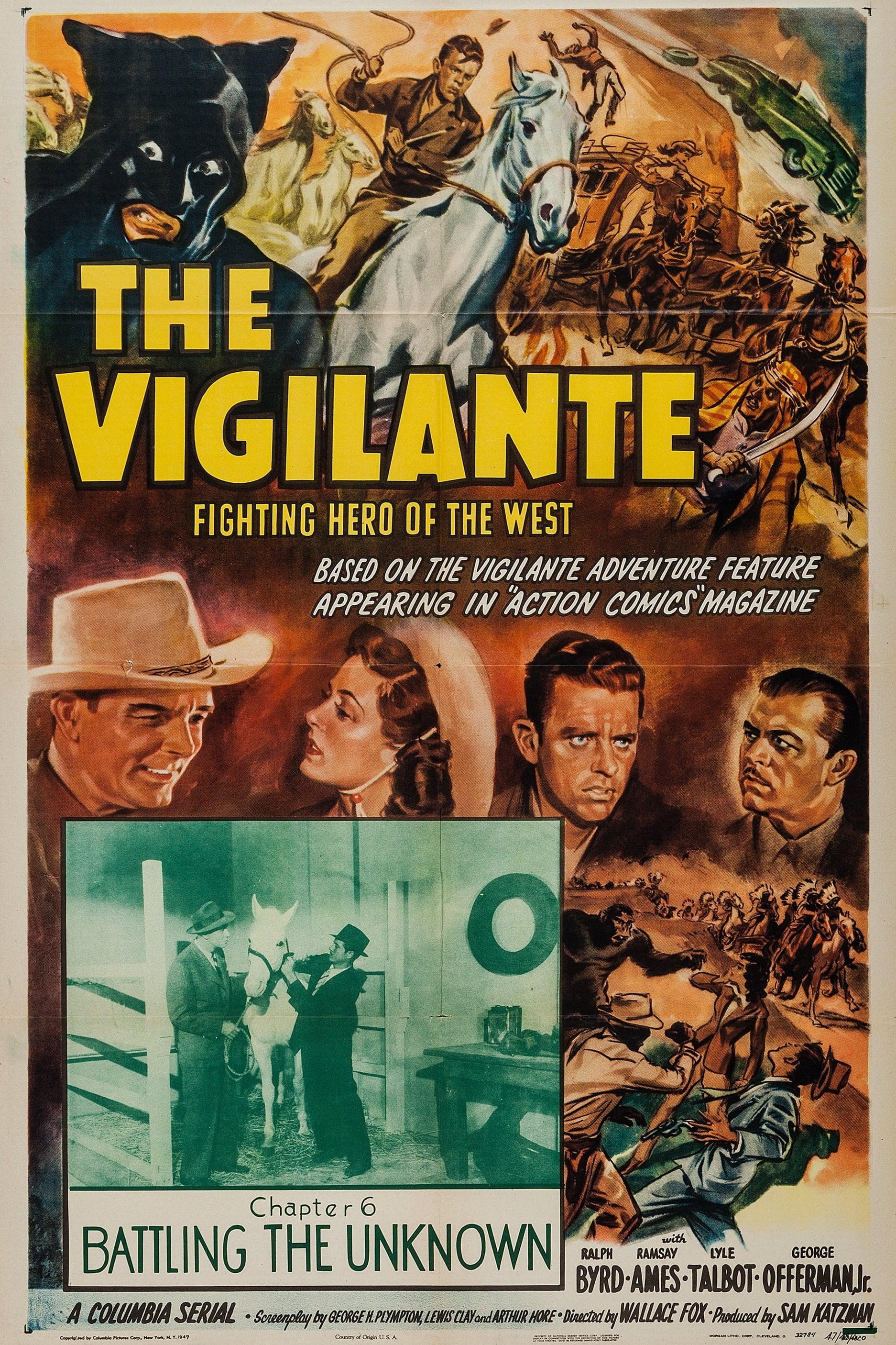 The Vigilante: Fighting Hero of the West