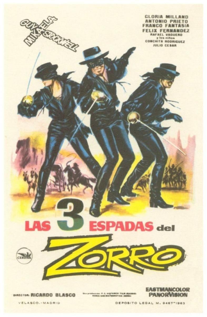 Zorro mit den drei Degen