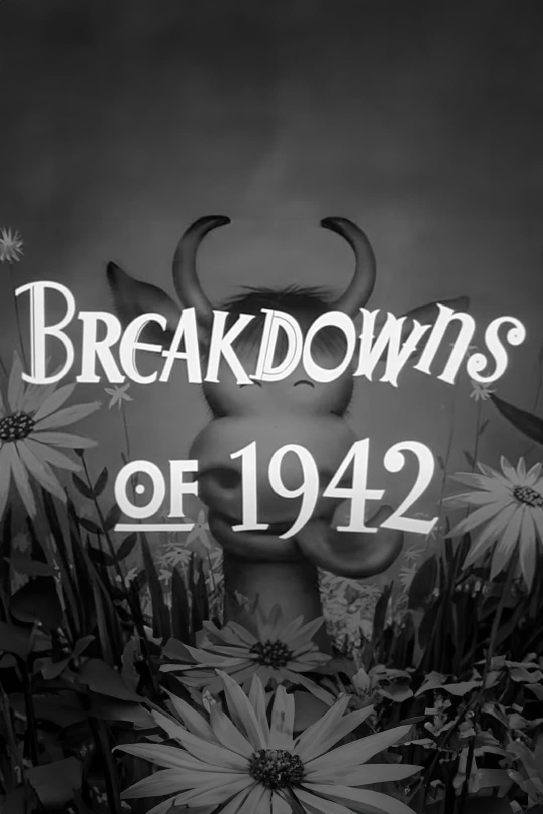 Breakdowns of 1942