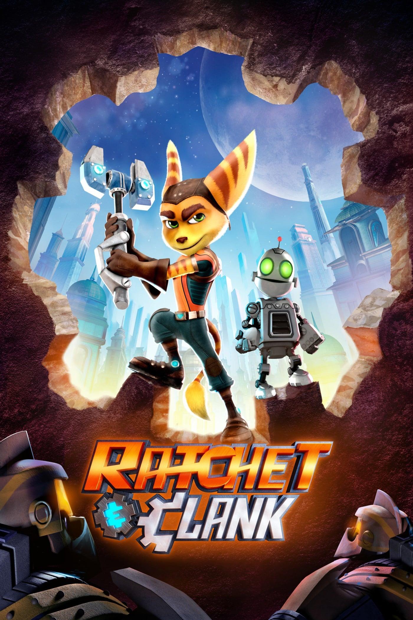 Heróis da Galáxia - Ratchet e Clank