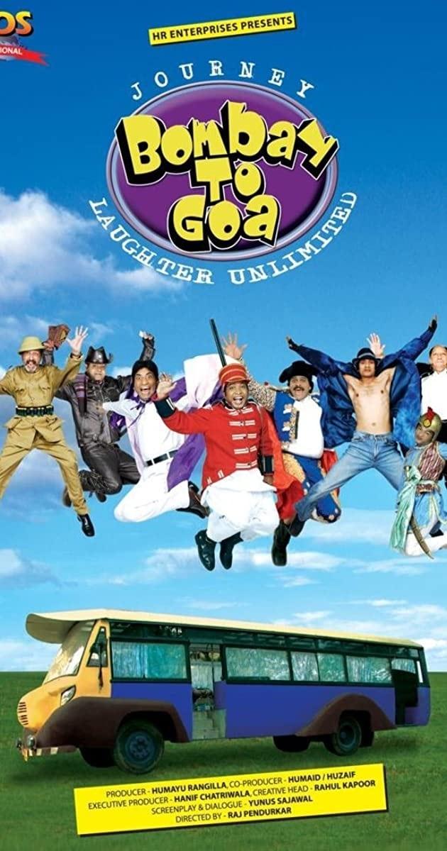 Journey Bombay to Goa